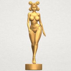 Free 3D printer designs Sexy Girl 08, GeorgesNikkei