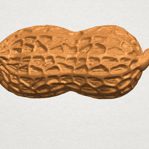 TDA0327 Peanut A05.png Download free STL file Peanut • 3D printer model, GeorgesNikkei