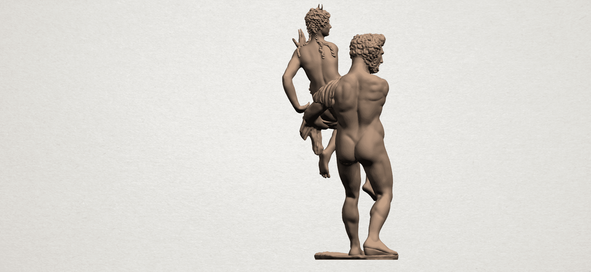 Naked Couple (iv) A05.png Download free STL file Naked Couple 04 • 3D printable model, GeorgesNikkei