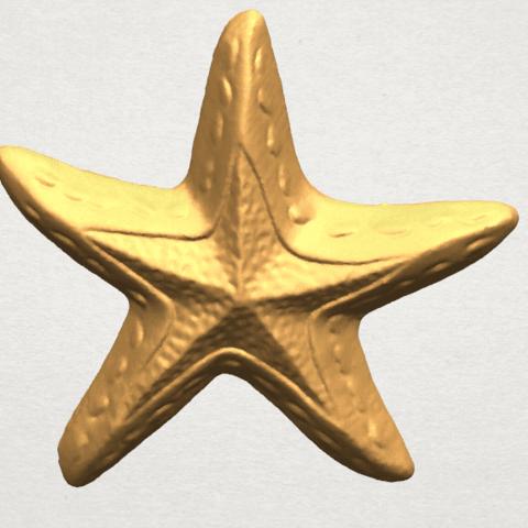 TDA0607 Starfish 01 A04.png Télécharger fichier STL gratuit Étoile de mer 01 • Design à imprimer en 3D, GeorgesNikkei