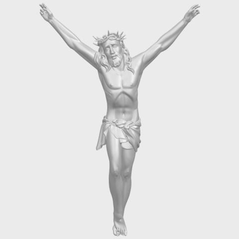 05_TDA0231_Jesus_(ii)_88mmA01.png Download free STL file Jesus 02 • 3D printing template, GeorgesNikkei