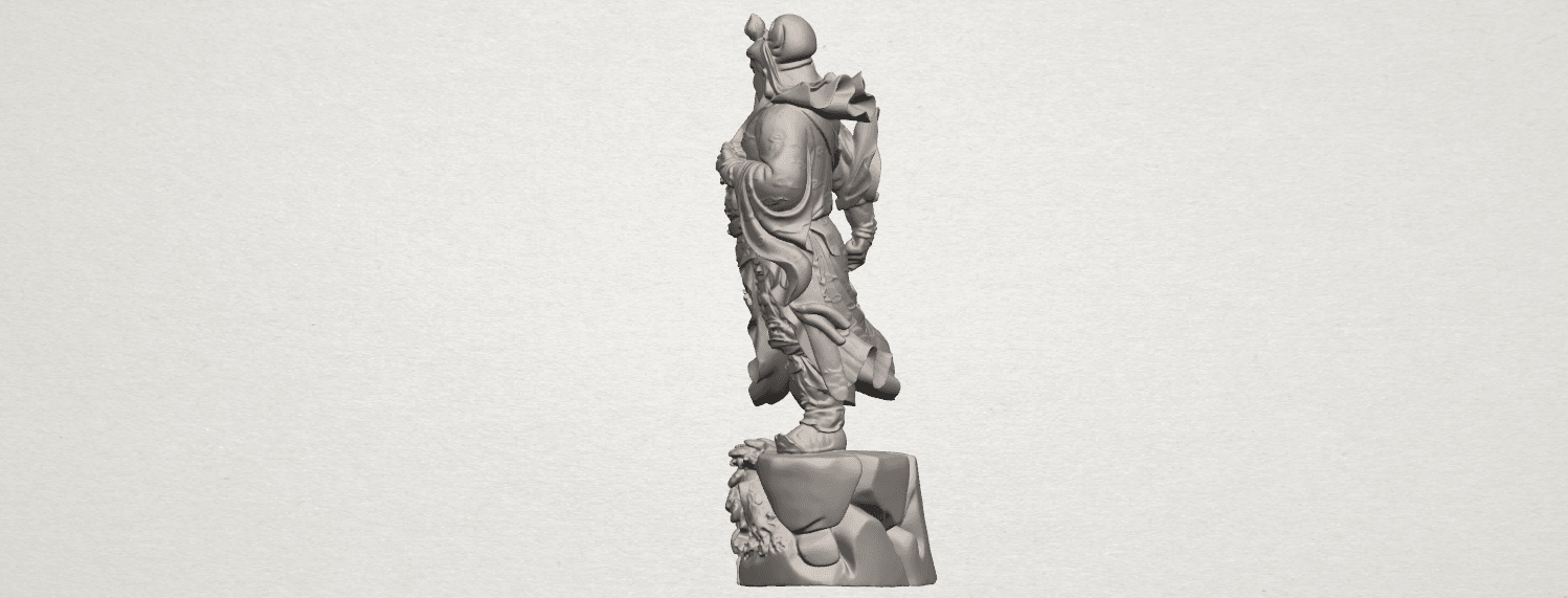 TDA0241 Guan Gong (ii) A04.png Download free STL file Guan Gong 02 • 3D printing template, GeorgesNikkei
