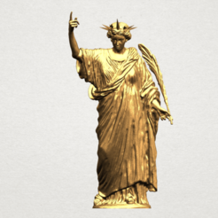 Free 3d print files Statue of Liberty, GeorgesNikkei