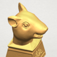 TDA0508 Chinese Horoscope of Rat 02 A07.png Download free STL file Chinese Horoscope of Rat 02 • 3D printable model, GeorgesNikkei