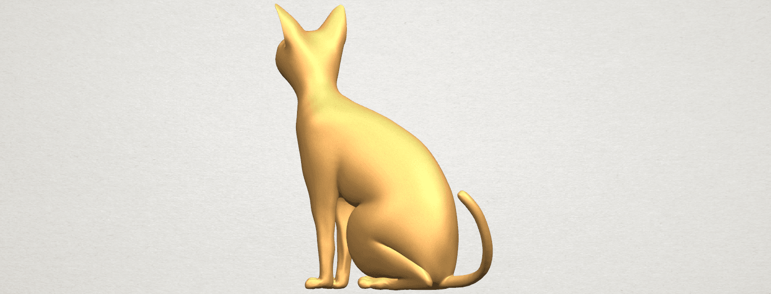TDA0576 Cat 01 A04.png Download free STL file Cat 01 • Design to 3D print, GeorgesNikkei