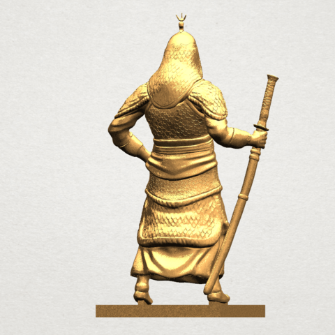 Age of Empire - warrior -C06.png Download free STL file Age of Empire - warrio • 3D print design, GeorgesNikkei