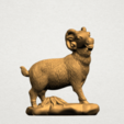 Chinese Horoscope08-A01.png Download free STL file Chinese Horoscope 08 Goat • Model to 3D print, GeorgesNikkei