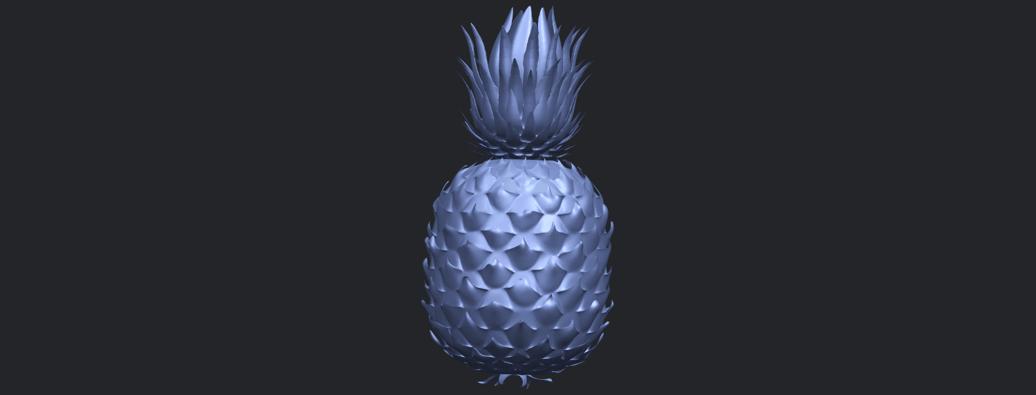 15_TDA0552_PineappleB07.png Download free STL file Pineapple • 3D printer design, GeorgesNikkei