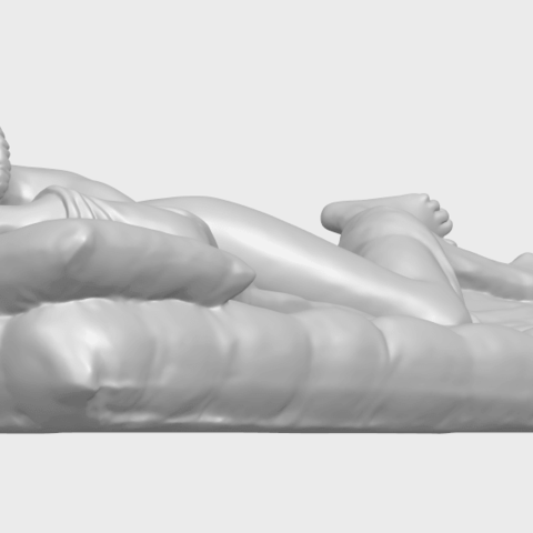 01_Naked_Body_Lying_on_Bed_ii_31mmA05.png Download free STL file Naked Girl - Lying on Bed 02 • Object to 3D print, GeorgesNikkei