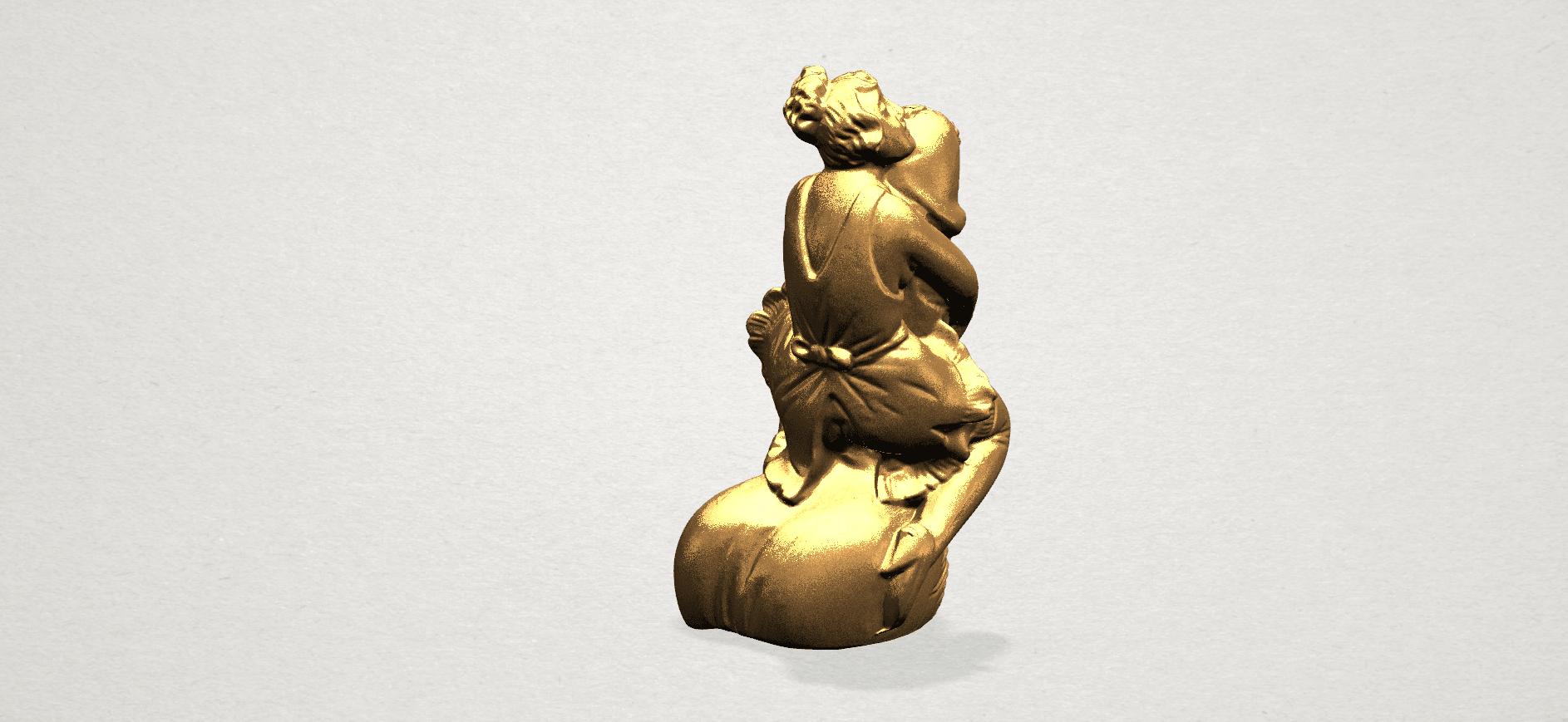 Alice hugging Dick - C03.png Download free STL file Alice hugging Dick • 3D printer design, GeorgesNikkei