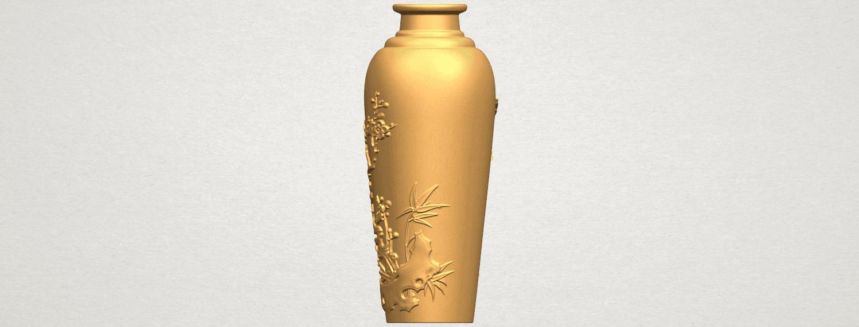 TDA0498 Vase 01 A04.png Télécharger fichier STL gratuit Vase 01 • Modèle pour impression 3D, GeorgesNikkei