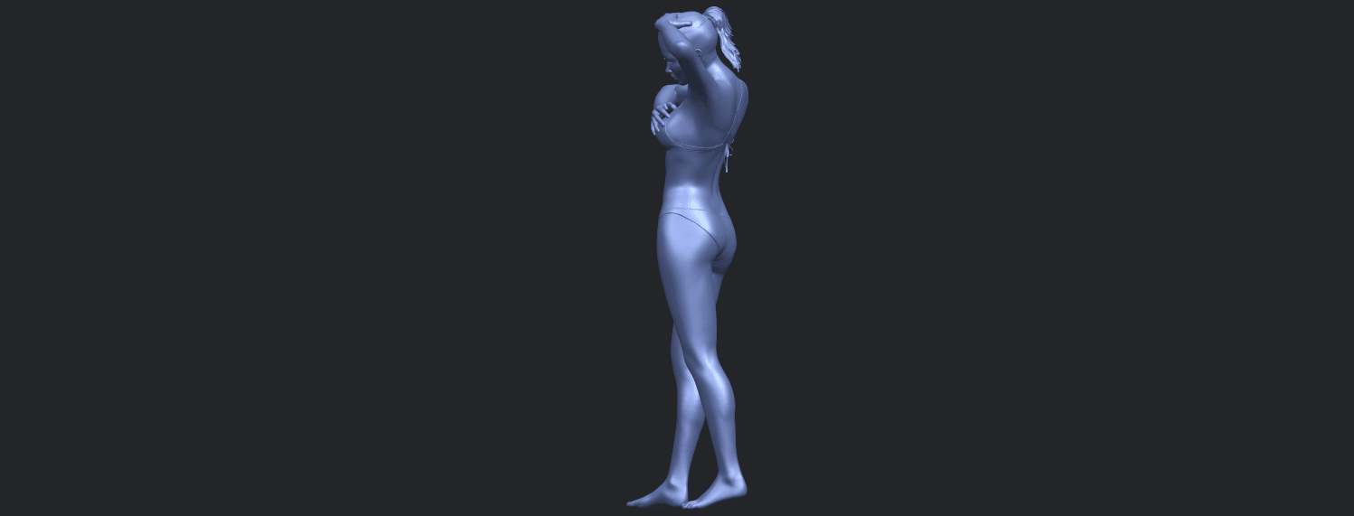 16_TDA0633_Naked_Girl_D03-B05.png Download free STL file Naked Girl D03 • 3D printing template, GeorgesNikkei