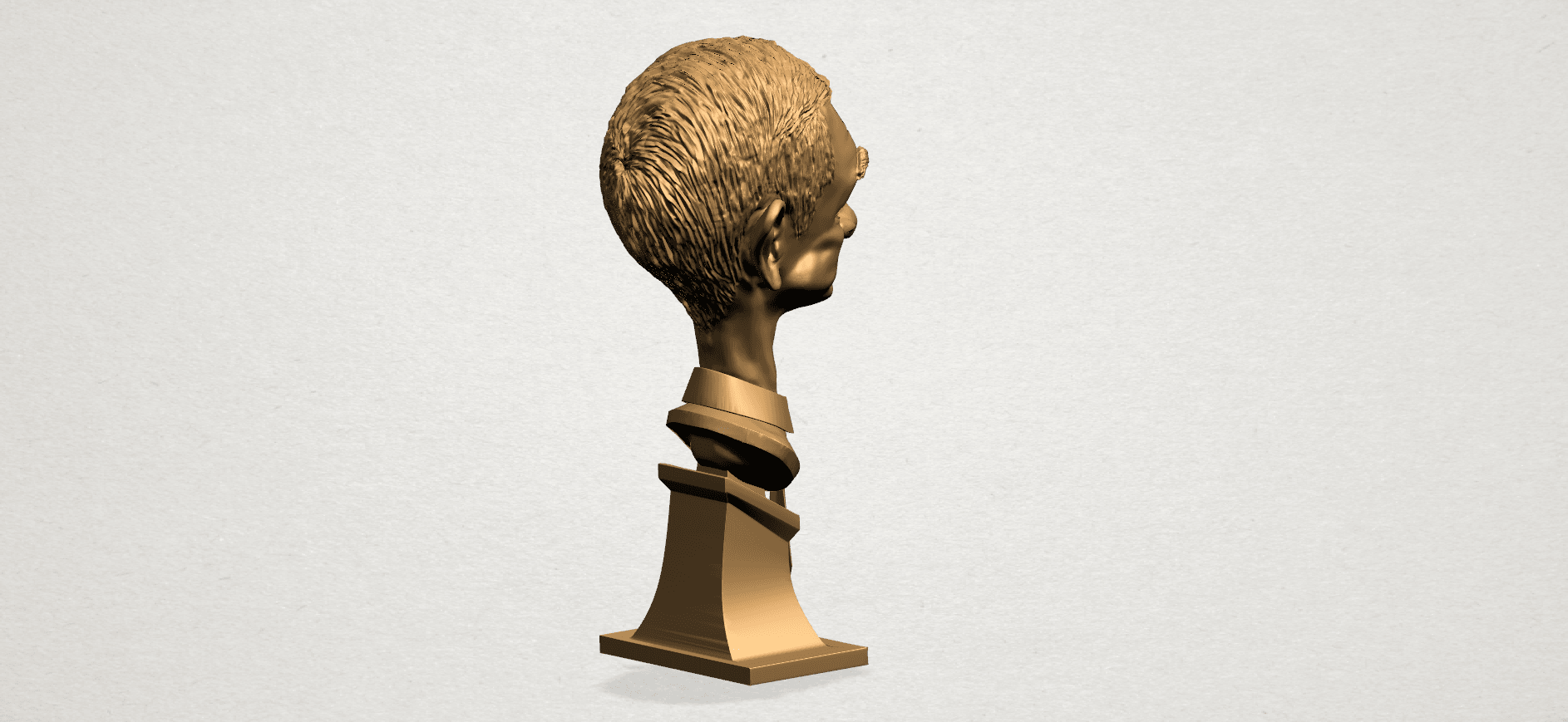 Sculpture of a man - B04.png Download free STL file Sculpture of a man 01 • 3D printable object, GeorgesNikkei