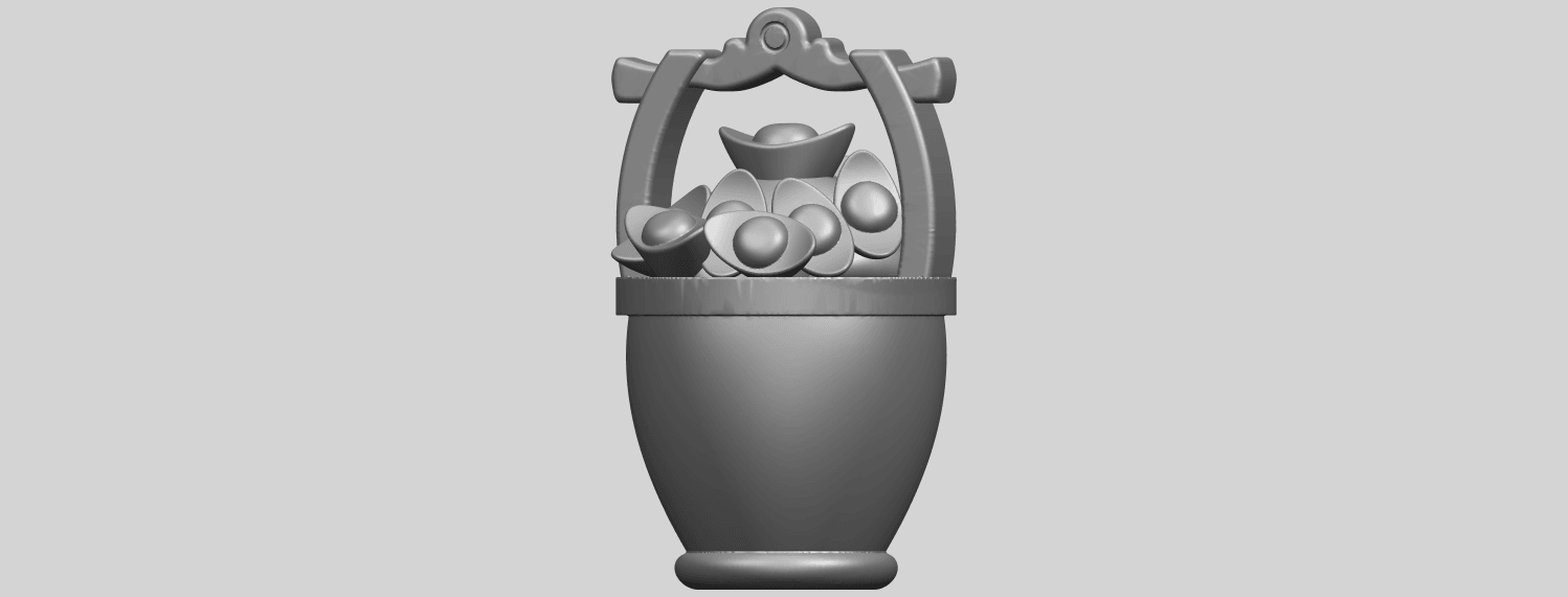13_TDA0502_Gold_in_BucketA07.png Download free STL file Gold in Bucket • 3D print object, GeorgesNikkei