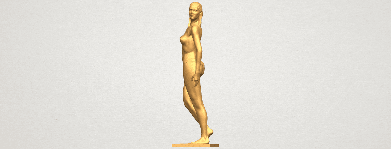 TDA0465 Naked Girl 19 A03.png Download free STL file Naked Girl 19 • 3D printer template, GeorgesNikkei