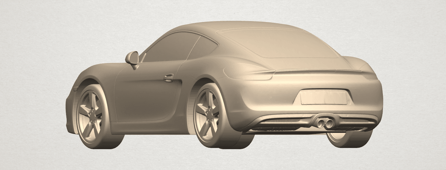 TDA0304 Porche 01 Length438mm A02.png Download free STL file Porche 01 • 3D printable object, GeorgesNikkei