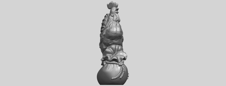08_TDA0321_CockA09.png Télécharger fichier STL gratuit Coq 01 • Design pour impression 3D, GeorgesNikkei