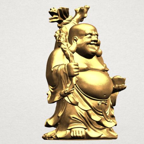 Metteyya Buddha 05 - 88mm - A08.png Télécharger fichier STL gratuit Bouddha Metteyya 05 • Objet imprimable en 3D, GeorgesNikkei