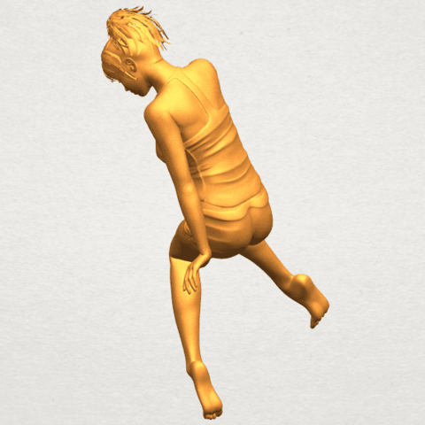 A04.png Download free STL file Naked Girl E04 • Template to 3D print, GeorgesNikkei