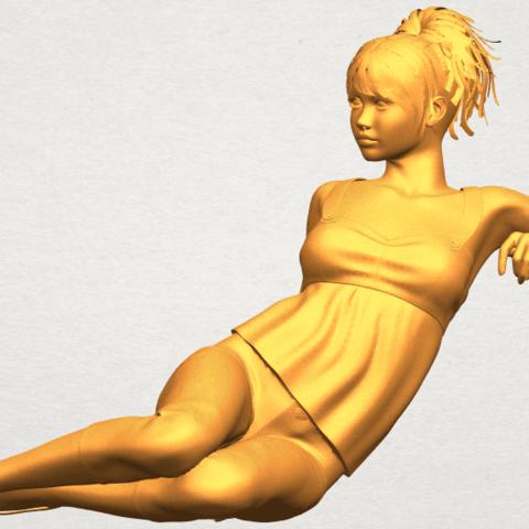 A02.png Télécharger fichier STL gratuit Fille Nue F06 • Modèle pour impression 3D, GeorgesNikkei