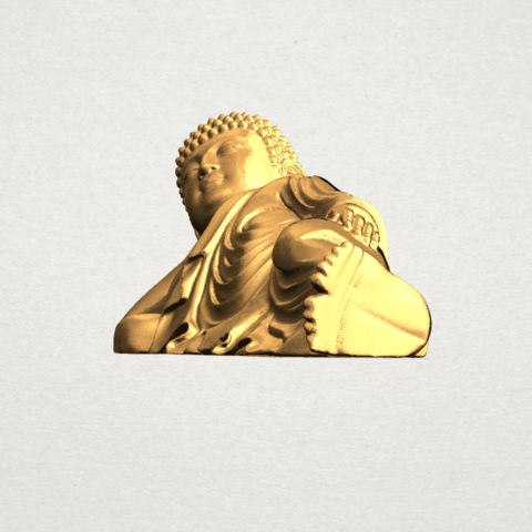 Sleeping Buddha (ii) A03.png Download free STL file Sleeping Buddha 02 • Design to 3D print, GeorgesNikkei