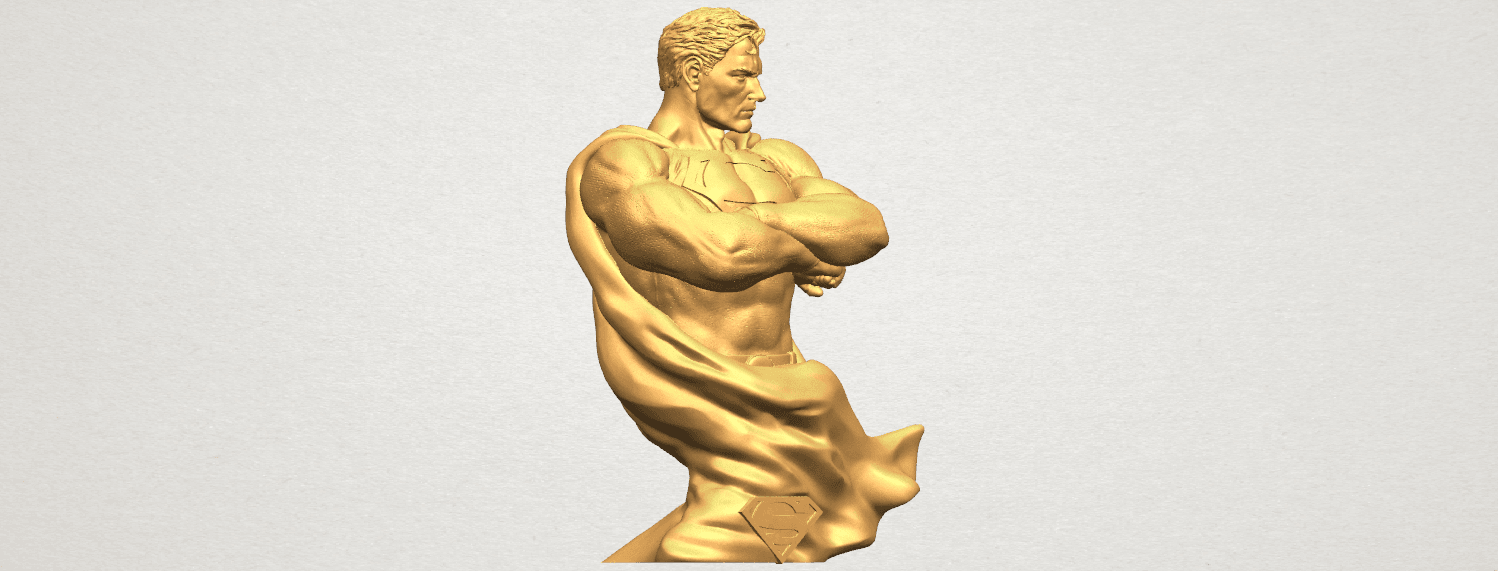 TDA0542 Superman A08.png Download free STL file Superman • 3D printable model, GeorgesNikkei