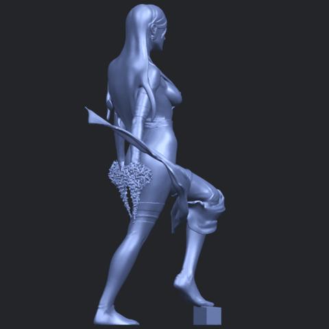 07_TDA0476_Beautiful_Girl_10B08.png Download free STL file Beautiful Girl 10 • 3D printable design, GeorgesNikkei