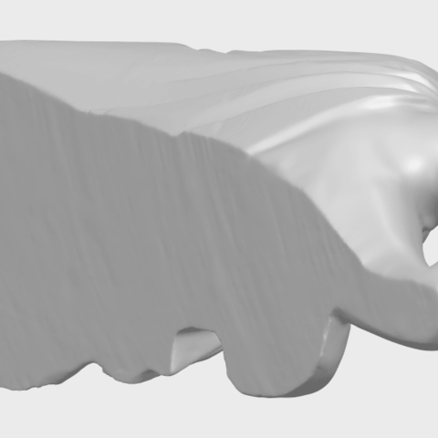 16_TDA0180_Sleeping_Buddha_(ii)_88mmA08.png Download free STL file Sleeping Buddha 02 • Design to 3D print, GeorgesNikkei