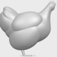 Download free STL files Hen, GeorgesNikkei