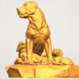Download free 3D printer designs Dog and Puppy 02, GeorgesNikkei