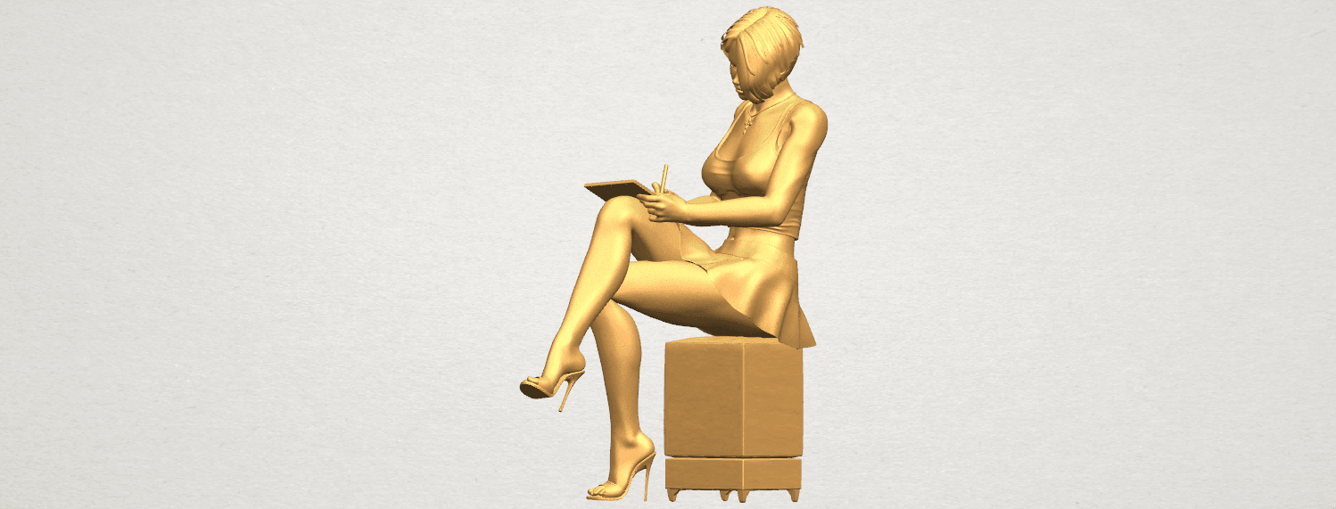 TDA0471 Beautiful Girl 05 A02.png Download free STL file Beautiful Girl 05 • 3D printing template, GeorgesNikkei