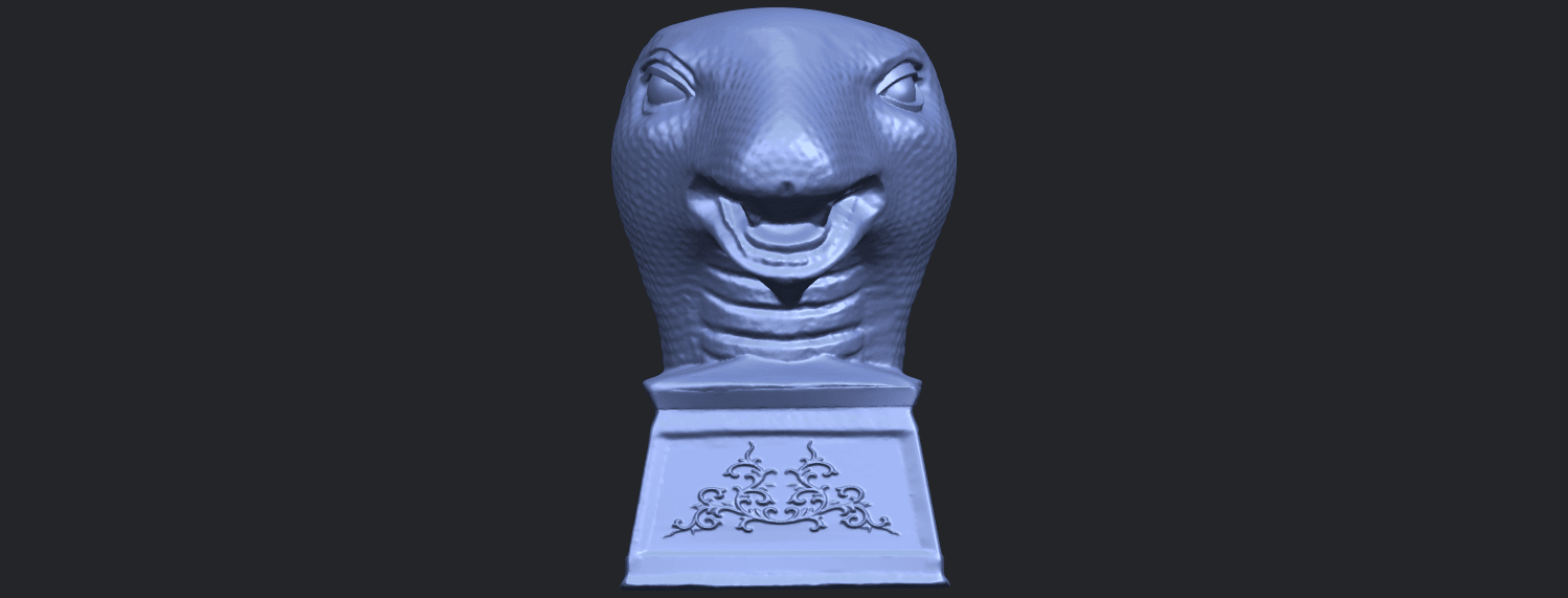 19_TDA0513_Chinese_Horoscope_of_Snake.02B01.png Download free STL file Chinese Horoscope of Snake 02 • 3D printer design, GeorgesNikkei