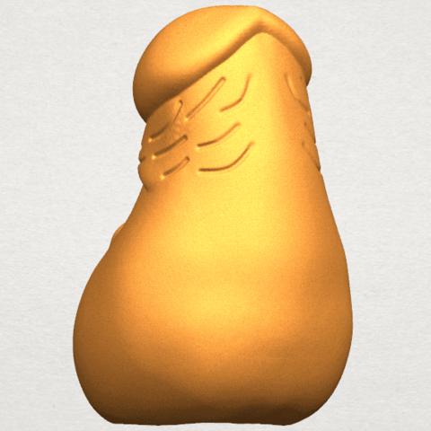 TDA0316 Dick (i) cute A04.png Download free STL file  Dick 01 cute • 3D print design, GeorgesNikkei