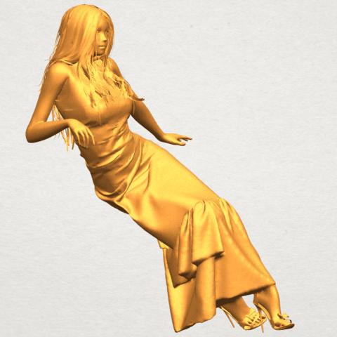 A10.png Télécharger fichier STL gratuit Fille Nue I02 • Objet à imprimer en 3D, GeorgesNikkei