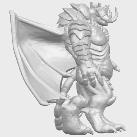 18_TDA0217_Monster_iA09.png Download free STL file Monster 01 • 3D printable template, GeorgesNikkei