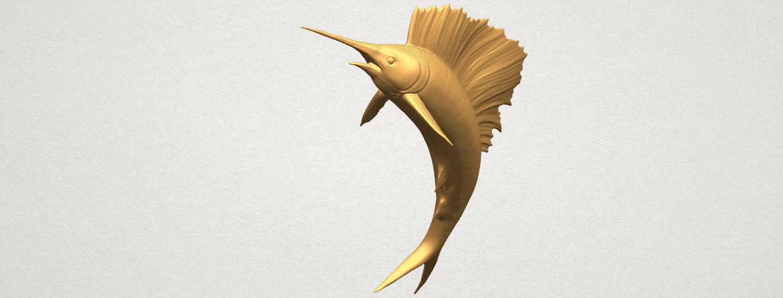TDA0572 Swordfish 02 A05.png Télécharger fichier STL gratuit Espadon 02 • Objet pour impression 3D, GeorgesNikkei