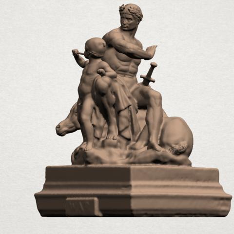 Father and Son (ii) A02.png Télécharger fichier STL gratuit Père et Fils 02 • Plan à imprimer en 3D, GeorgesNikkei