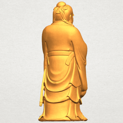 TDA0341 Confucius A05.png Download free STL file Confucius • 3D printable model, GeorgesNikkei