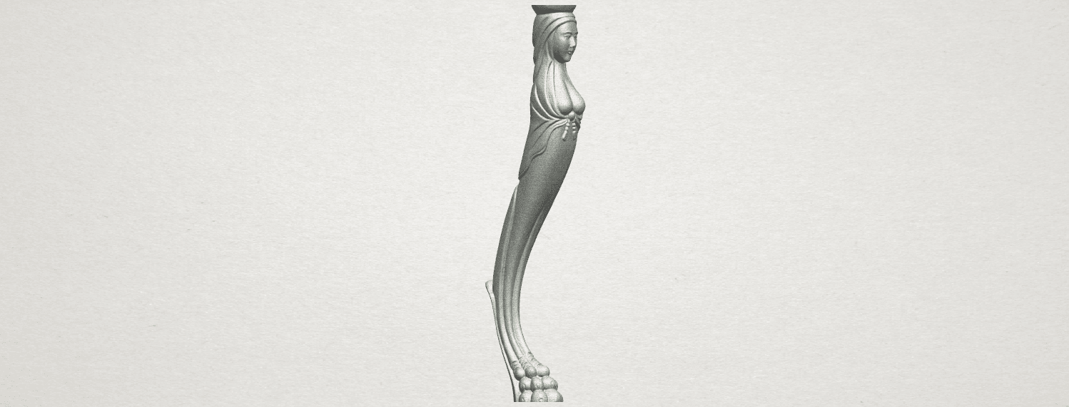 TDA0263 Table Leg (i) A05.png Download free STL file Table Leg 01 • Design to 3D print, GeorgesNikkei