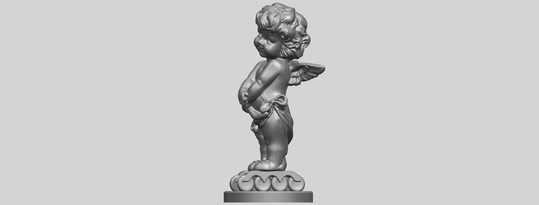 16_TDA0479_Angel_Baby_02A03.png Télécharger fichier STL gratuit Bébé Ange 02 • Plan pour imprimante 3D, GeorgesNikkei