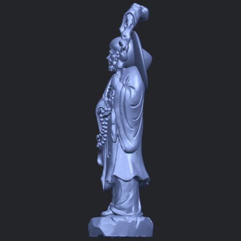 10_TDA0338_Da_Mo_ivB04.png Télécharger fichier STL gratuit Da Mo 04 • Design pour imprimante 3D, GeorgesNikkei