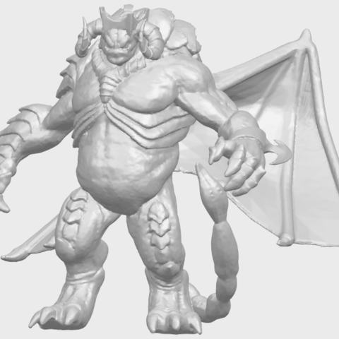 18_TDA0217_Monster_iA02.png Download free STL file Monster 01 • 3D printable template, GeorgesNikkei