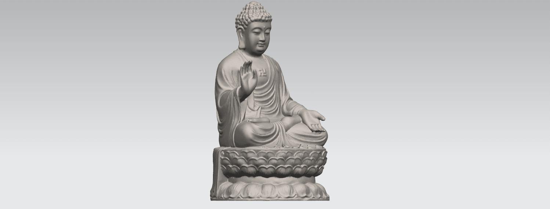 TDA0459 Gautama Buddha (iii) A07.png Download free STL file Gautama Buddha 03 • 3D printer template, GeorgesNikkei