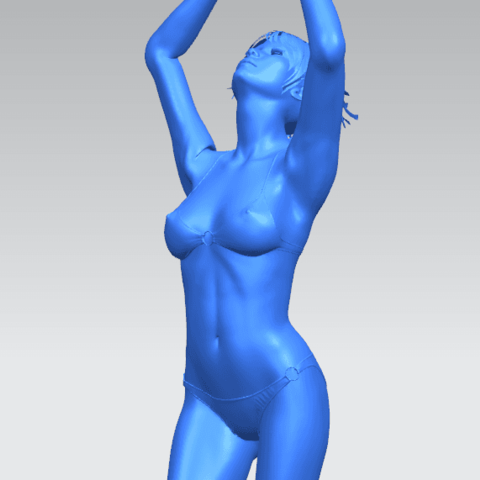 TDA0627 Naked Girl C03 A10.png Download free STL file Naked Girl C03 • 3D printer template, GeorgesNikkei