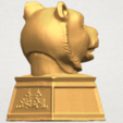 TDA0510 Chinese Horoscope of Tiger 02 A05.png Download free STL file Chinese Horoscope of Tiger 02 • 3D print object, GeorgesNikkei