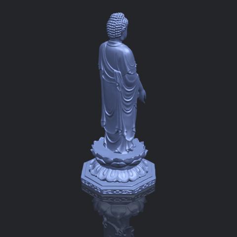 10_TDA0176_Gautama_Buddha_Standing_iiiB00-1.png Download free STL file Gautama Buddha Standing 03 • 3D printing design, GeorgesNikkei