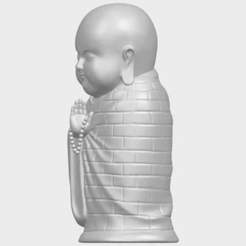 Little_Monk_80mmA03.png Download free STL file Little Monk 01 • 3D printable design, GeorgesNikkei