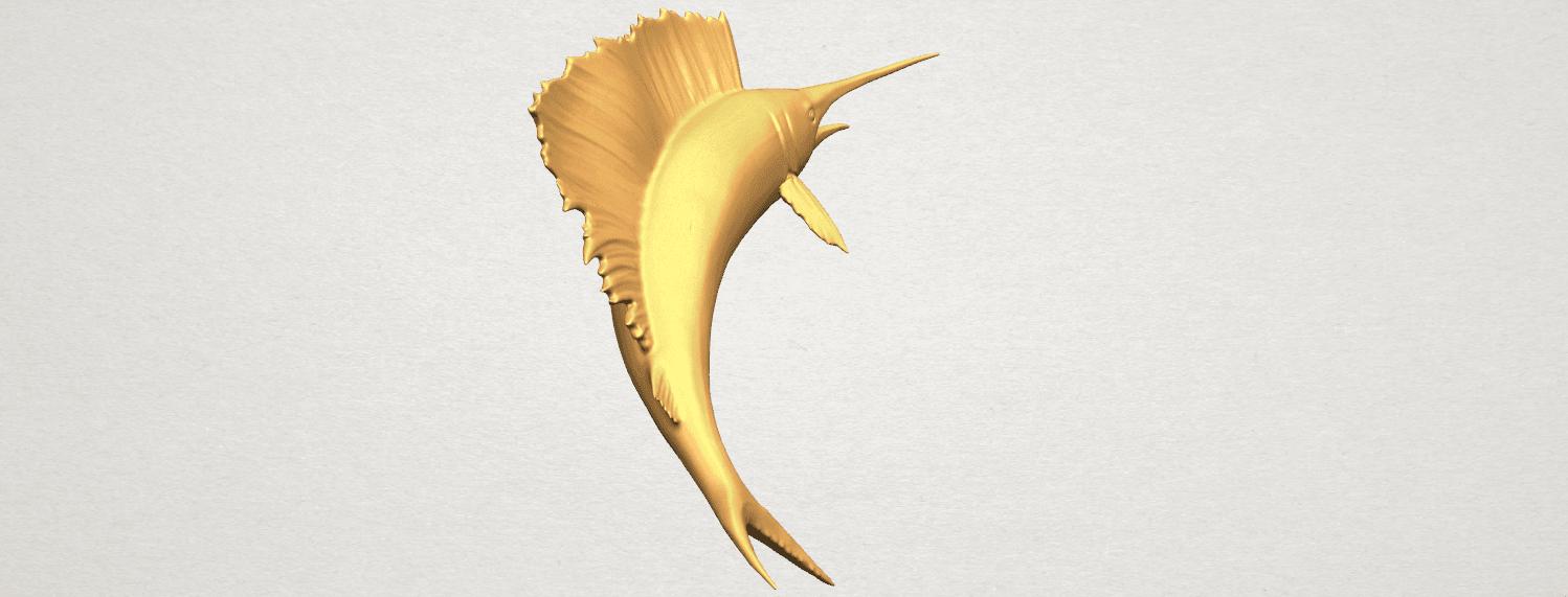 TDA0572 Swordfish 02 A09.png Télécharger fichier STL gratuit Espadon 02 • Objet pour impression 3D, GeorgesNikkei
