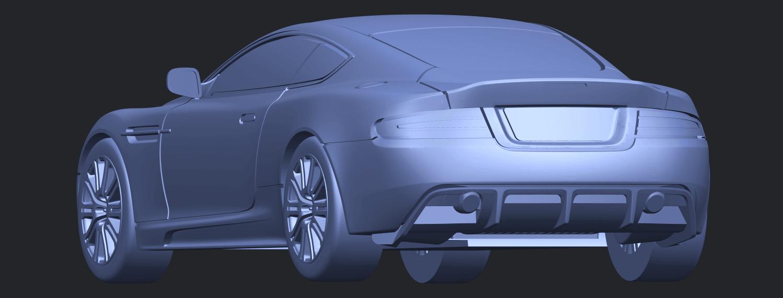 TDB008_1-50 ALLA03.png Download free STL file Aston Martin DBS • 3D printing object, GeorgesNikkei