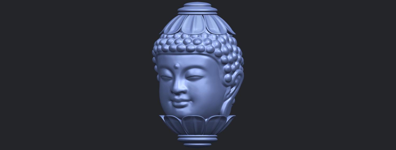 11_Buddha_Head_Sculpture_80mmB02.png Download free STL file Buddha - Head Sculpture • 3D printing model, GeorgesNikkei